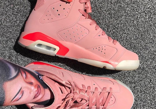 Is Aleali May Hinting At A Release Of Her Pink Air Jordan 6?