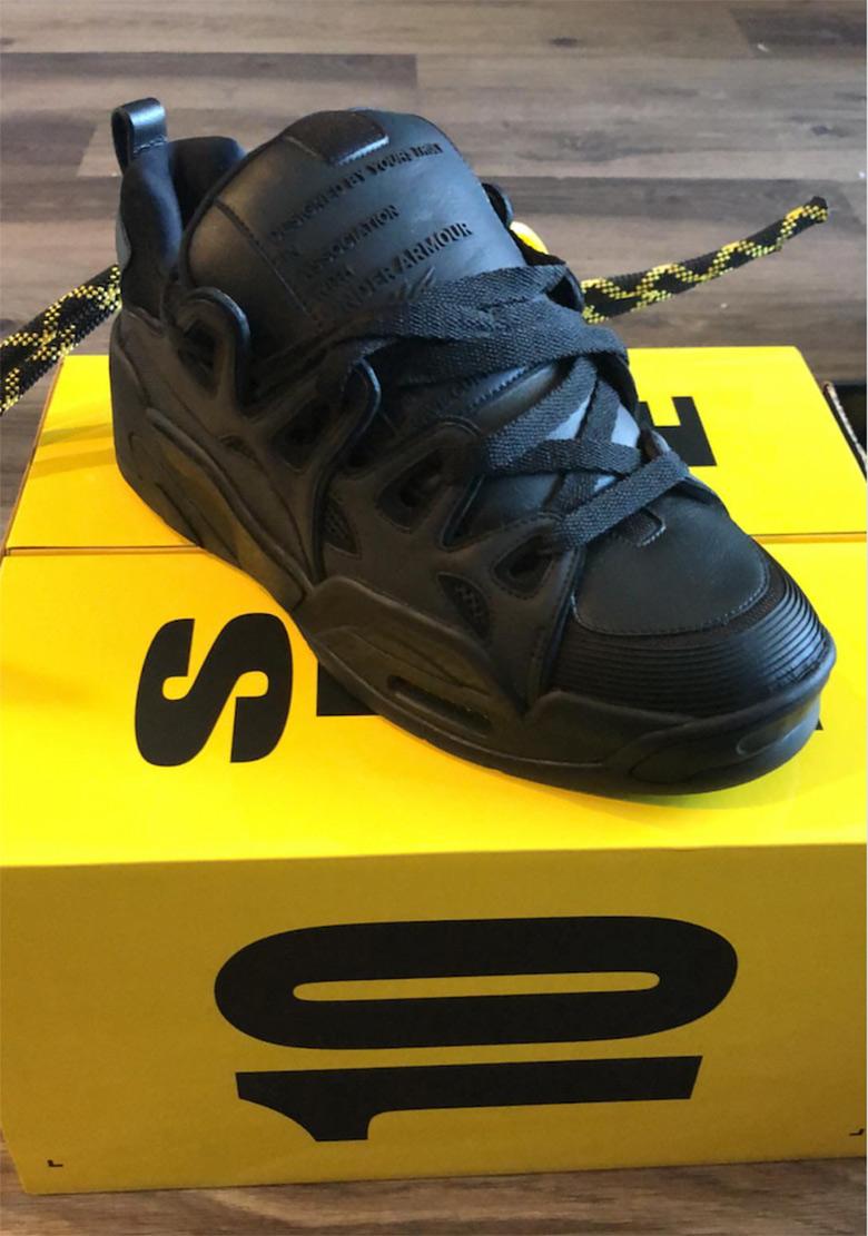 5e3c5c62683c ASAP Rocky Under Armour UA Black Shoe