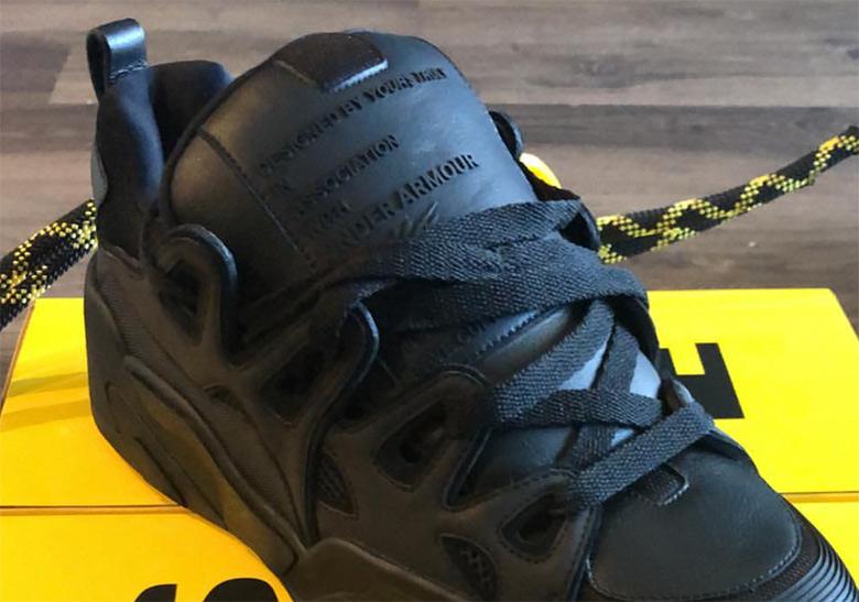 ASAP Rocky Under Armour UA Black Shoe