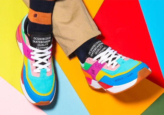 atmos Reveals A Colorful Collaboration With The DC Shoes E. Tribeka
