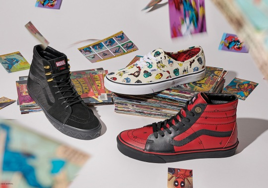 Where To Buy: Marvel x Vans Footwear Collection