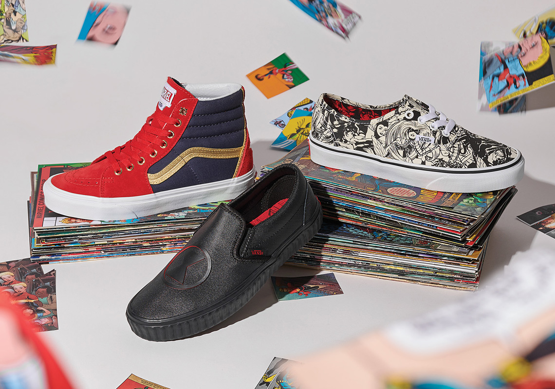 Vans X Marvel Avengers Collection Where To Buy Sneakernews Com