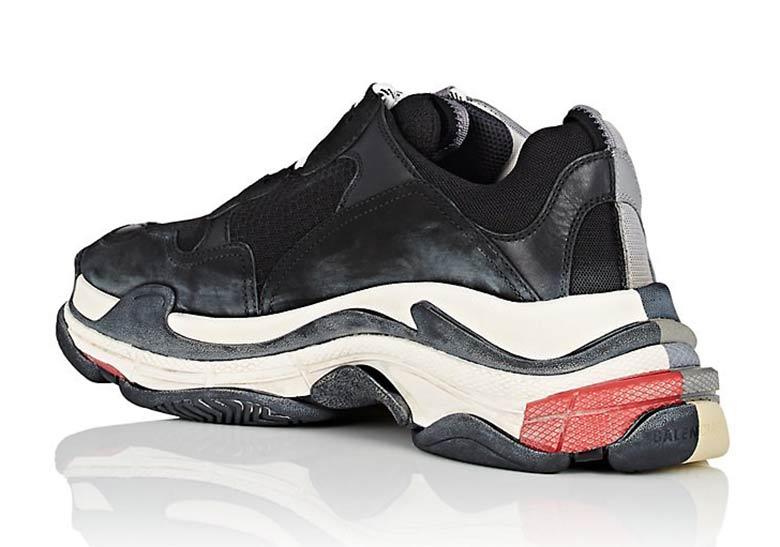 köpa billigt anländer heta produkter Balenciaga Triple S: nouveaux Coloris Le Site de la Sneaker
