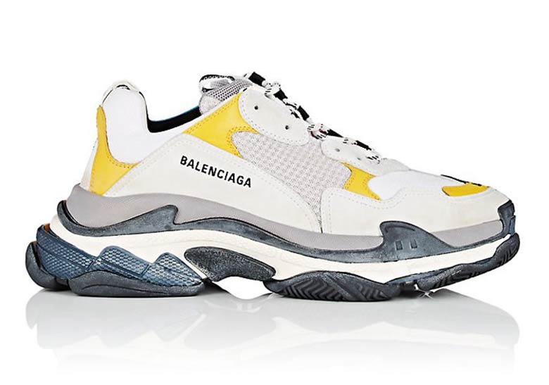 wide varieties most popular performance sportswear Balenciaga Synthetic Fluorescent Triple S Trainers in Grey