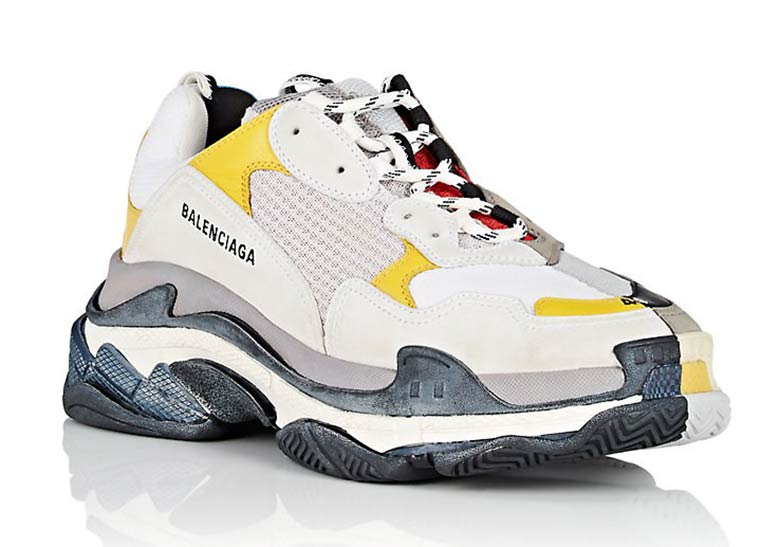 Balenciaga fluorescent triple s trainers Buy Online Large