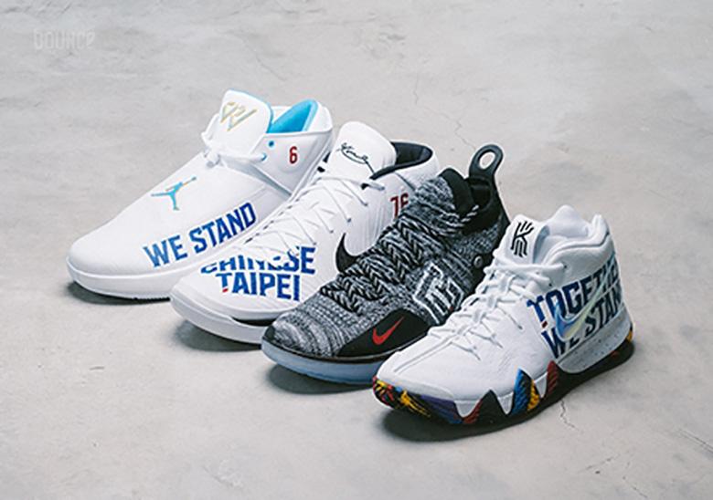 4152963a6b64 Chinese Taipei Custom Nike Shoes 2019 World Cup