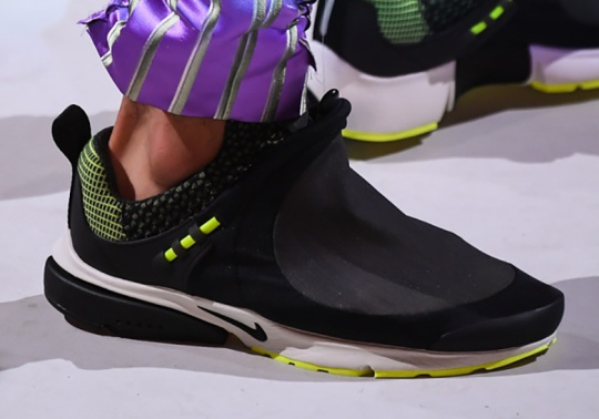 COMME des Garcons Reveals A Nike Presto Collaboration At Paris Fashion Week