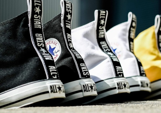 "Converse Chuck Taylor All-Star ""Logo Tape"" Pack Arrives In Three Colors"