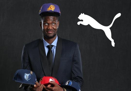 PUMA Signs Projected Top Pick Deandre Ayton