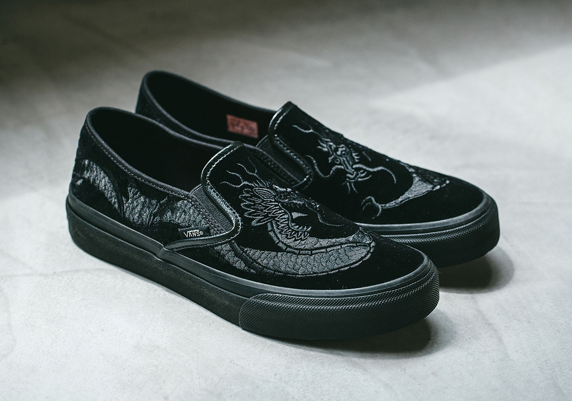 8325938dd60ff8 Pairs of this fierce Vans Slip-On are expected to arrive at Asia retailers  such as Invincible tomorrow