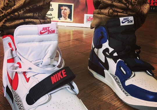 Don C Reveals New Colorways Of His Jordan Legacy 312 Sneaker