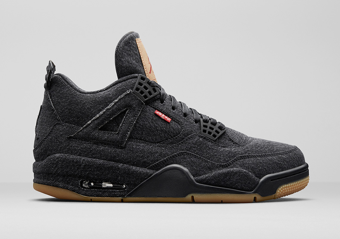 best service 37c33 3ba7a ... discount code for levis x air jordan 4 gs release date june 30th 2018.  coming
