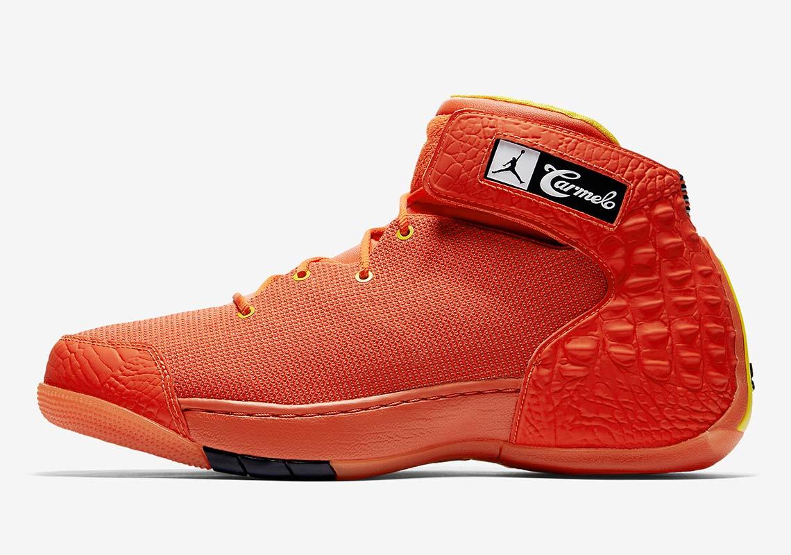 36f29672bf3 denmark jordan melo 1.5 se hoodie black orange 8 14 7689b 8e6b2;  netherlands jordan melo 1.5. available at ebay nike. color team orange  white team orange