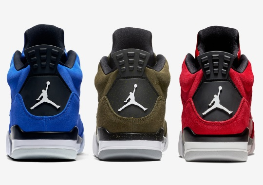 The Jordan Son Of Mars Low Arrives In Three Suede Tones For Fall