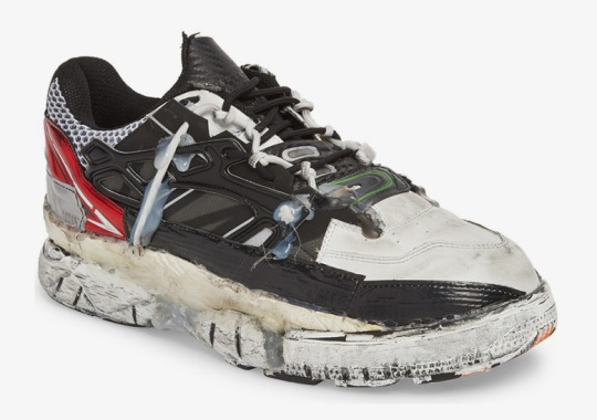 This Trashed Maison Margiela Sneaker Costs $1,645