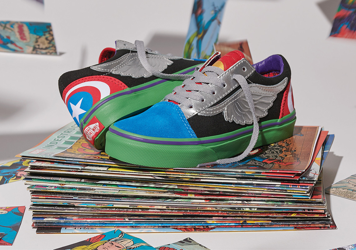 d20ca737440 Vans x Marvel Avengers Collection - Where to Buy