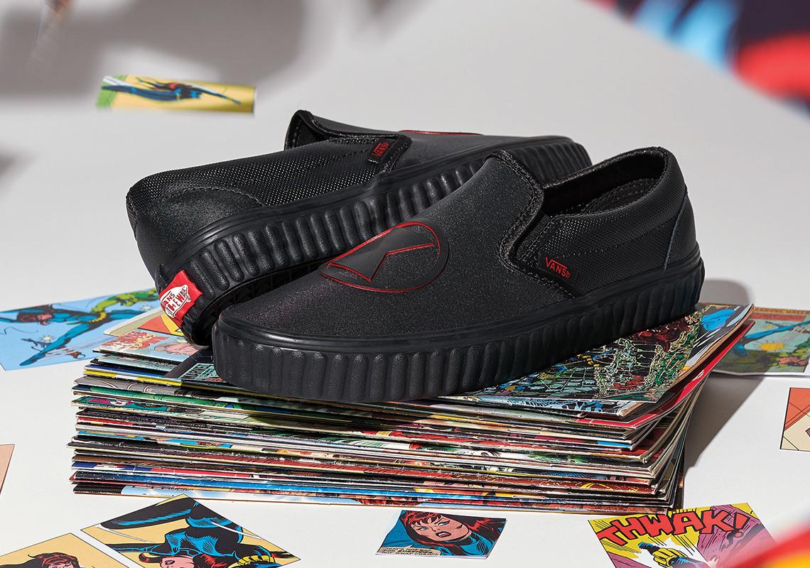 vans marvel shoes