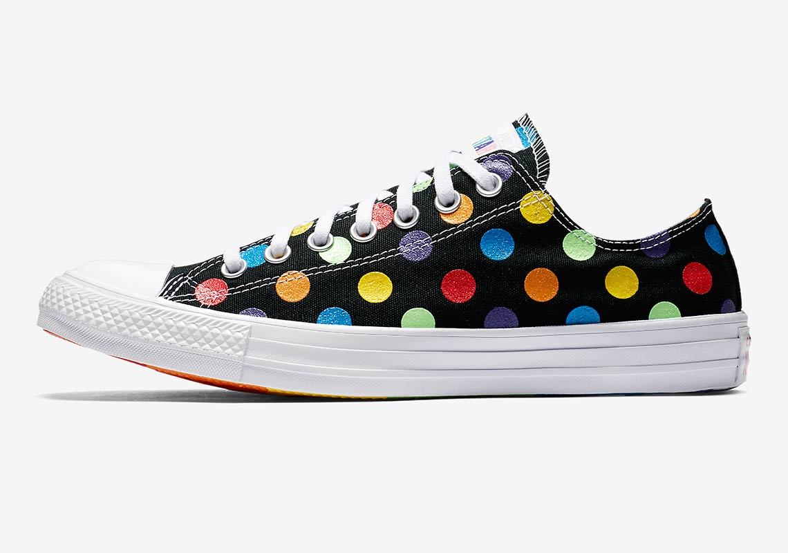 29c389b1494 Converse Pride x Miley Cyrus Chuck Taylor All Star High Top AVAILABLE AT  Nike  70. Color  White