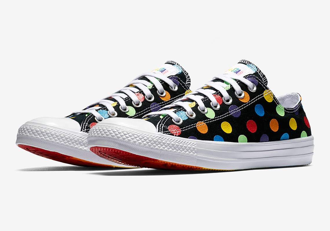 bb5c148c3a46 Converse Pride x Miley Cyrus Chuck Taylor All Star Low Top AVAILABLE AT Nike   70. Color  Black Style Code  162253C-001. show comments