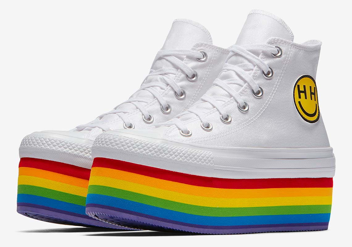 on sale a587f b45c5 Converse Pride x Miley Cyrus Chuck Taylor All Star Low Top AVAILABLE AT Nike   70. Color  Black