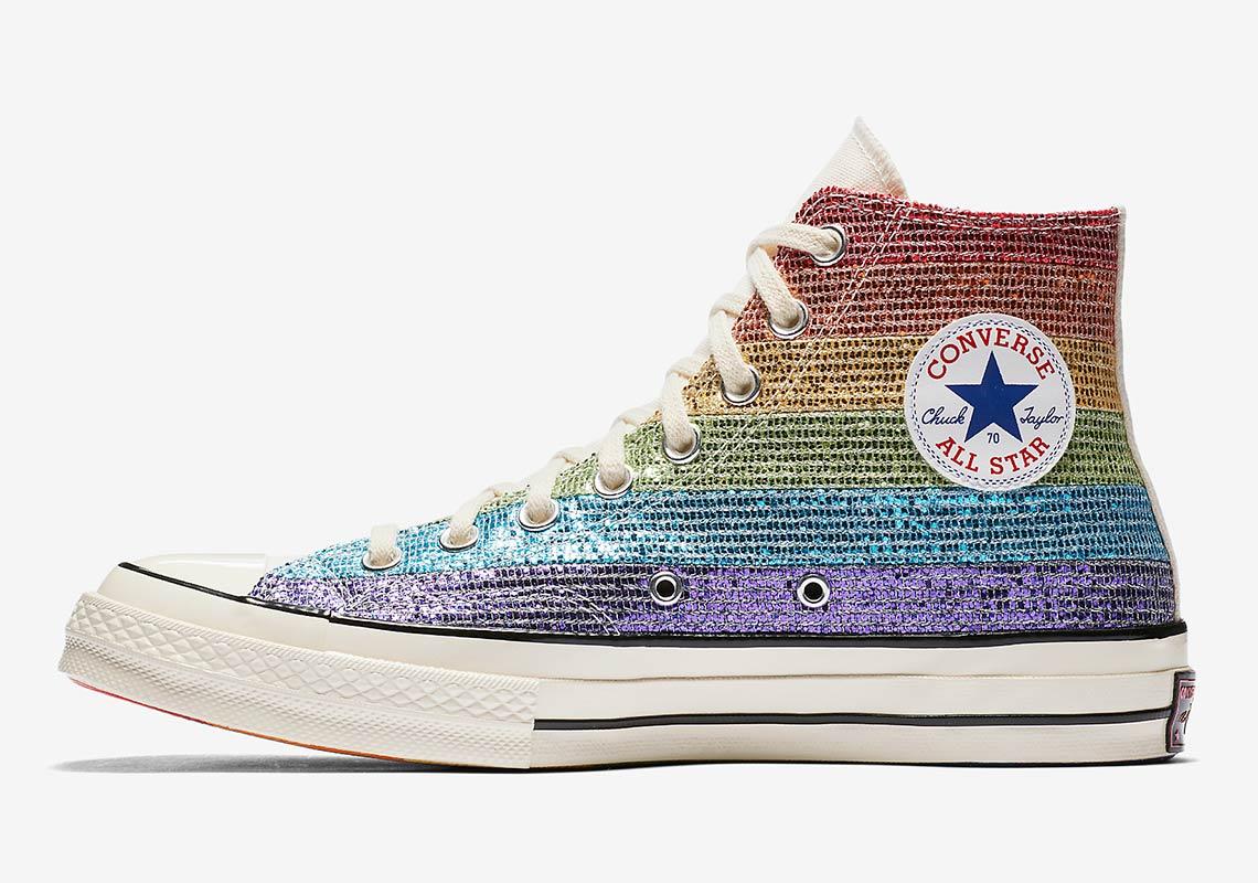 e099a55ab17e Converse Pride x Miley Cyrus Chuck 70 High Top AVAILABLE AT Nike  95.  Color  Multi-Color