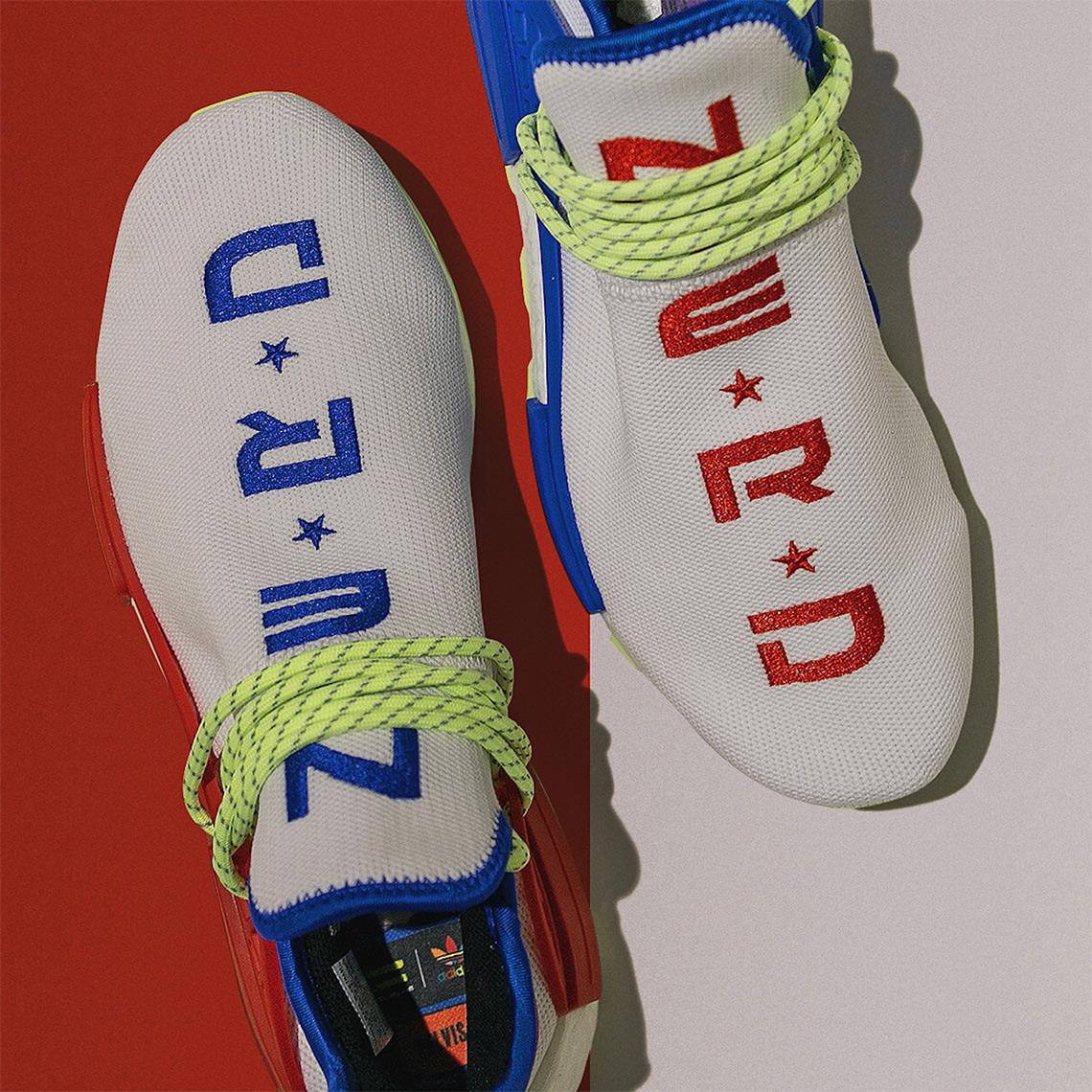 new product bddfa 2e7e7 Pharrell x NERD x adidas NMD Hu