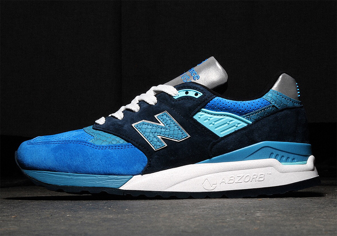 the latest 1441b 94337 New Balance 998 Blue/Navy Available Now | SneakerNews.com