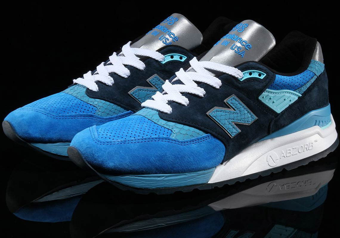 New Balance 998 Blue/Navy Available Now