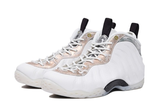 "Nike Air Foamposite One ""Marble"" Is Releasing For Women"