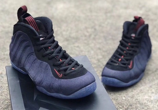 The Nike Air Foamposite One Gets Dressed In Denim