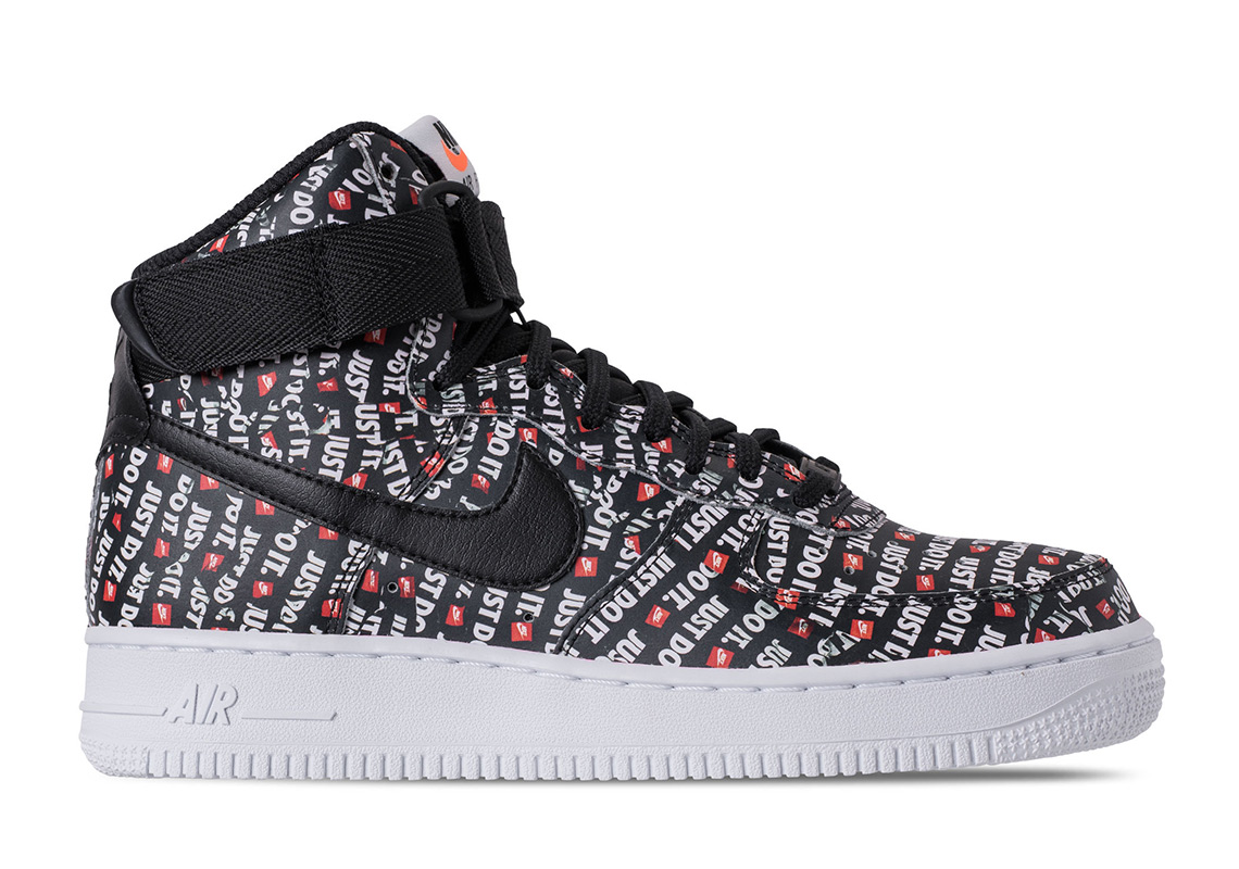 """3d7d198dfd8c Nike Air Force 1 High """"Just Do It"""" Release Date  June 28"""