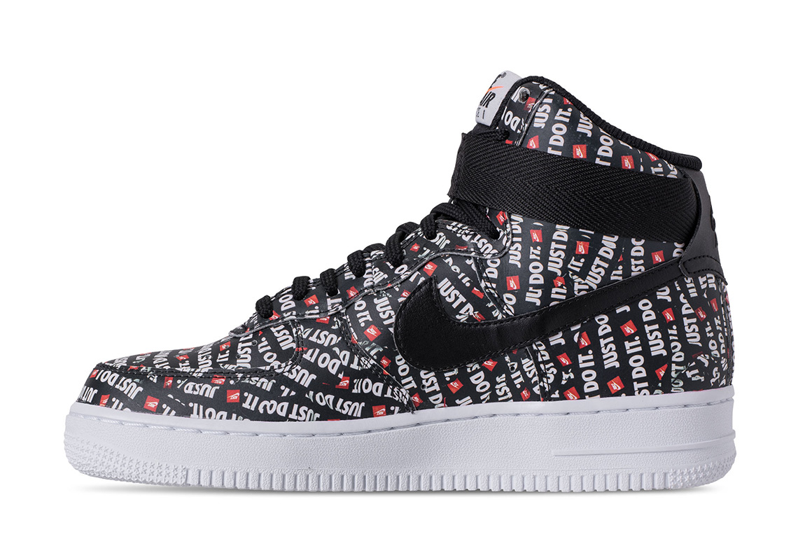"sports shoes 61e74 01cd9 Nike Air Force 1 High ""Just Do It"" Release Date June 28, 2018"