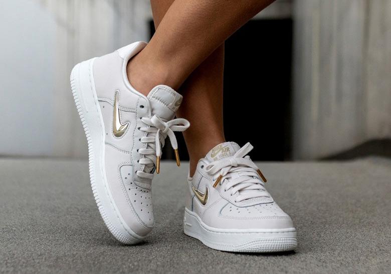 Nike Air Force 1 Low Gold Jewel Swoosh Photos |