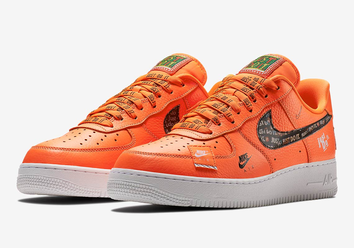 "the best attitude 809fe b47a2 Nike Air Force 1 Low ""Just Do It"" Release Date June 28, 2018"