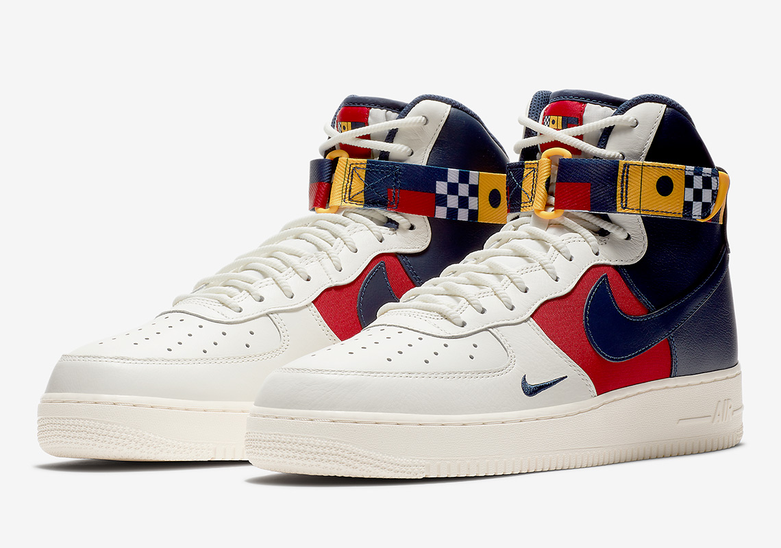 08ccf50439e1 Advertisement. Nike Air Force 1 High AVAILABLE AT Nike Release Date   Summer