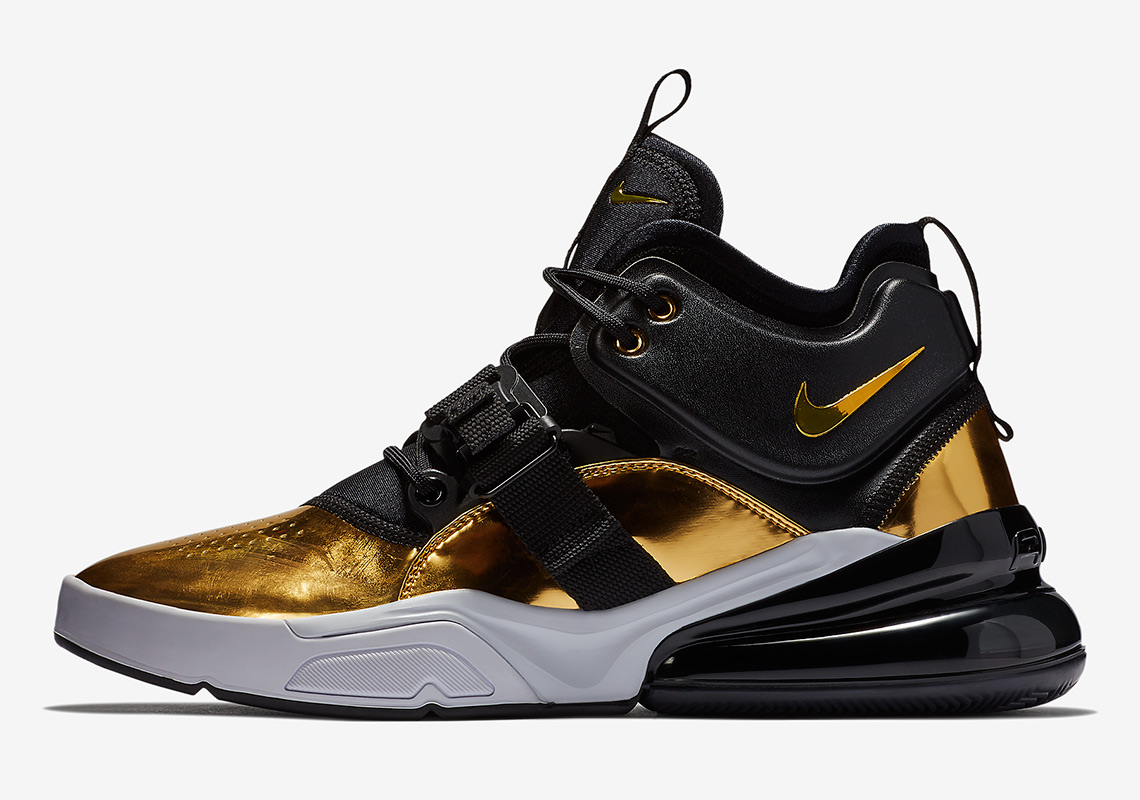 Nike Air Force 270 Quot Gold Standard Quot At5272 700 Release Info