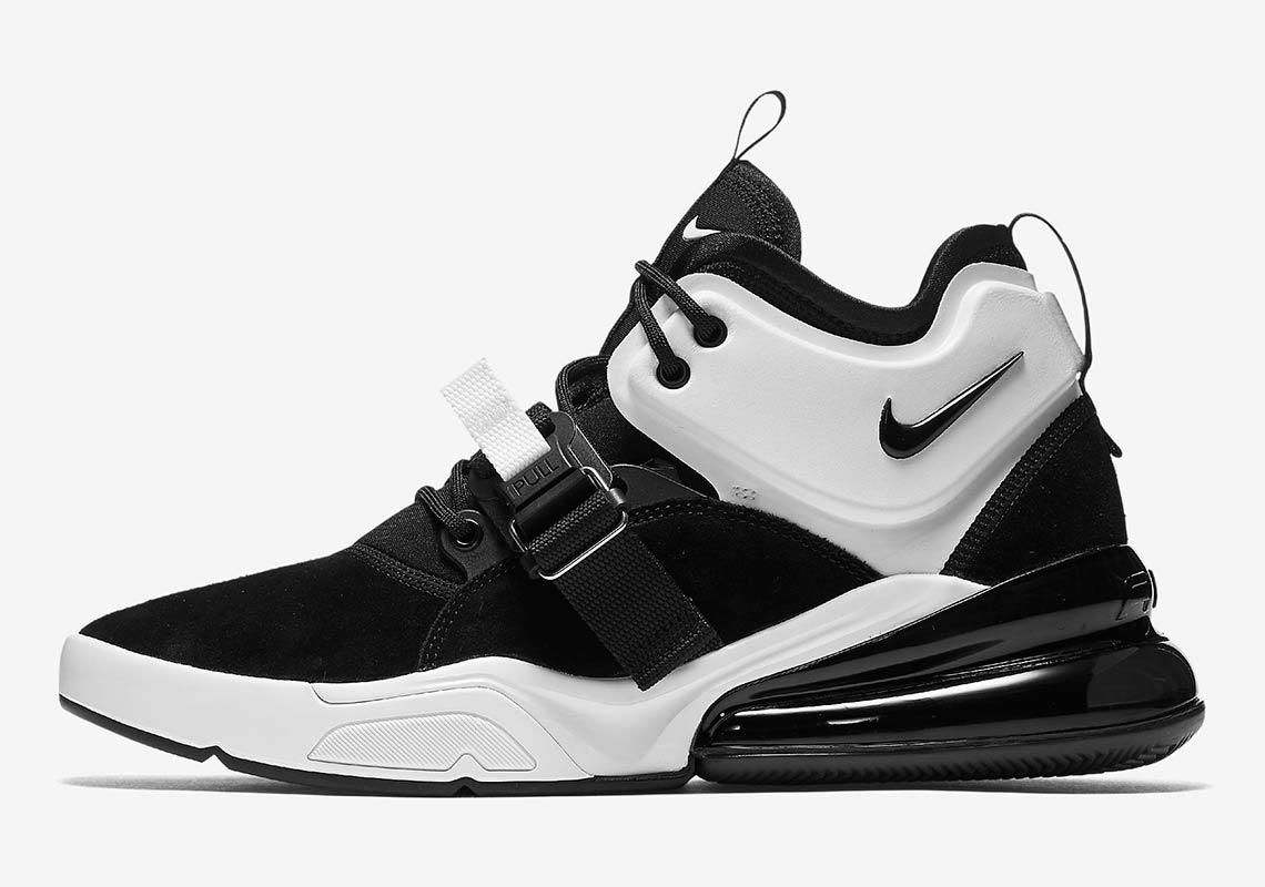 fe97ae37598 Nike Air Force 270 Black White Release Info AH6772-006