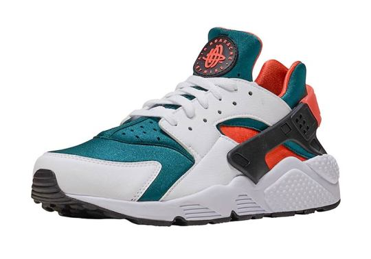 The Nike Air Huarache Arrives In A Miami Hurricanes Colorway