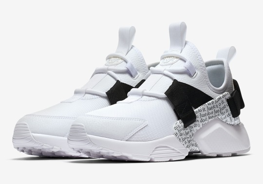 "Nike Adds The Air Huarache City Low To Its ""Just Do It"" Collection"