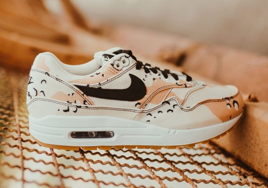 Desert Camo Prints Appear On The Nike Air Max 1
