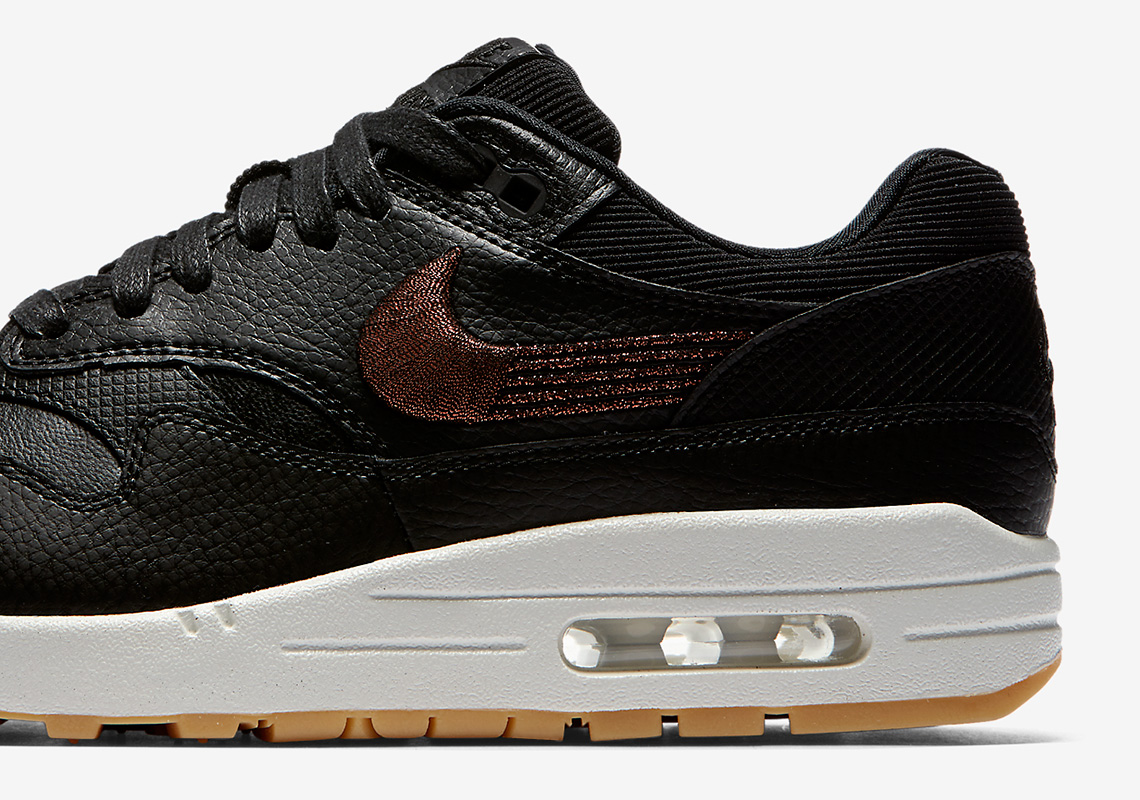 Nike Remixes The Swoosh On This Premium Air Max 1 a74302d8b