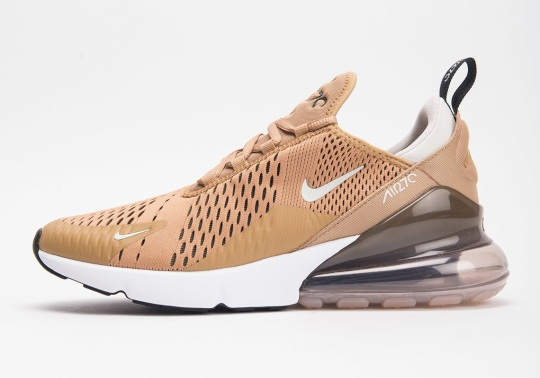 "Nike Air Max 270 ""Elemental Gold"" Is In Stores"