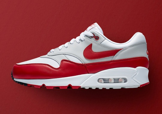 "The Nike Air Max 90/1 ""University Red"" Releases On June 9th"