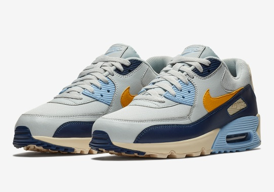 Nike Adds Vintage Yellow To The Air Max 90