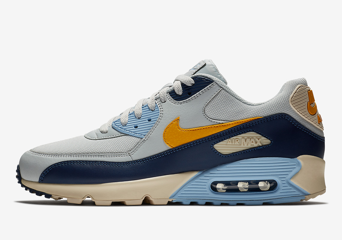 Nike Air Max 90 W shoes yellow | WeAre Shop
