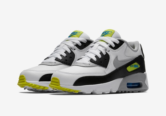"Nike Air Max 90 ""Citron"" Releases For Kids"