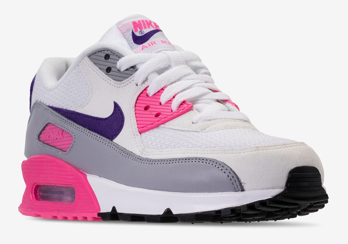 "official photos e3ada 6be7c The Original Nike Air Max 90 ""Laser Pink"" Just Returned"