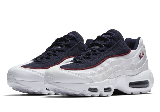 """Nike Adds A Cursive """"NSW"""" Logo To The Air Max 95"""