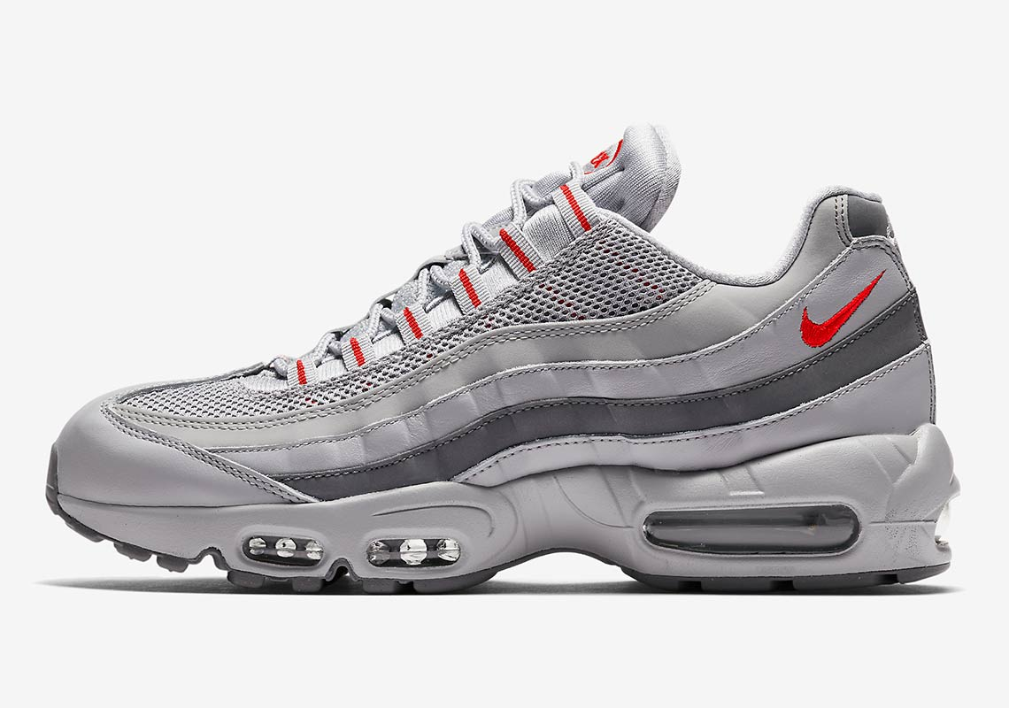 buy online 4b556 5ea20 Nike Air Max 95 Silver AQ9972-001 Release Info  SneakerNews.
