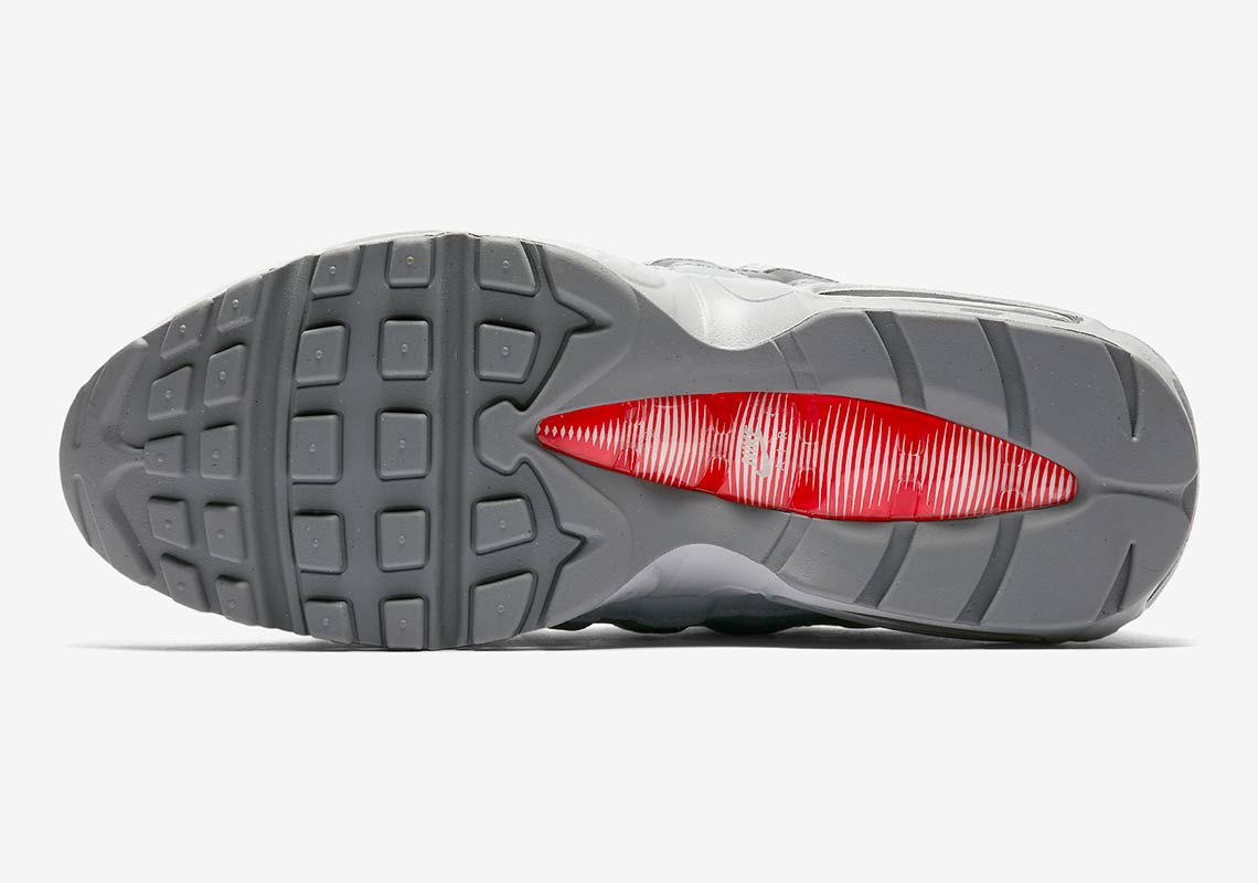 ... Nike Air Max 95 Silver AQ9972-001 Release Info SneakerNews.com  Professional Nike Air Max 95 QS Bullet Varsity GS 918630-001 Black Red  White Metallic ... 54a631281